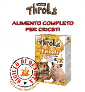 Alimento Completo per Criceti con Frutta Disidratata Throls Criceti 750gr