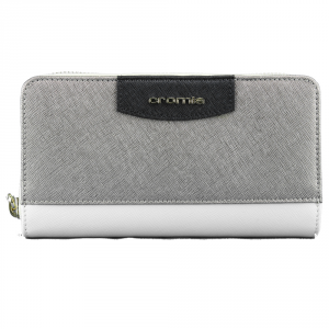 Woman wallet Cromia IT SAFFIANO 2630645 BEIGE+ACCIAIO