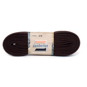 ZAMBERLAN® REPLACEMENT FLAT LACES   -   Coffee