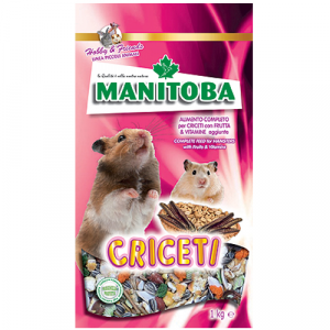 Alimento per criceti Manitoba 1 kg