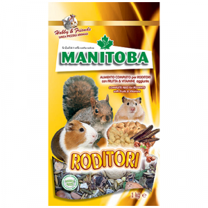 Alimento per roditori Manitoba 1 kg