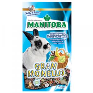 Manitoba Gran Monello Mix Coniglietto 2,5 kg