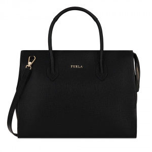 Hand and shoulder bag Furla PIN 942261 ONYX