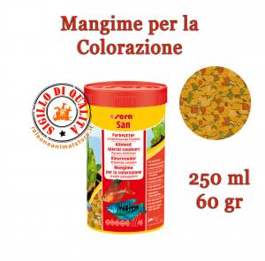 Sera San Mangime per la Colorazione in Scaglie Galleggianti 250ml