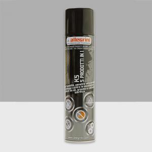 Allegrini K5 spray sbloccante multiuso 5 in 1 per contatti ed ingranaggi