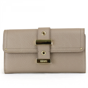 Woman wallet Liu Jo BEAULIEU N67038 E0033 PALE BROWN
