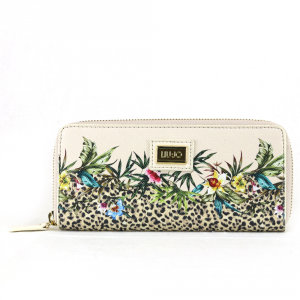 Woman wallet Liu Jo HAWAII N18160 E0043 BIANCO LANA