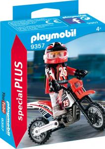 PLAYMOBIL CAMPIONE DI MOTOCROSS 9357