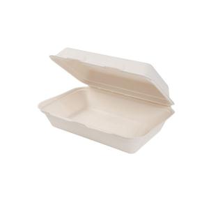 Contenitore asporto con coperchio biodegradabile - 1000ml