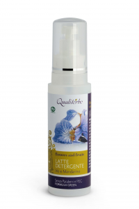 Latte detergente struccante  125 ml - Linea Flowers and Fruits - (Vegan ok, no Parabeni, no PEG)