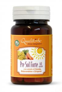 Pre Sol Forte 60 Capsule - Prepara la pelle all'esposizione solare
