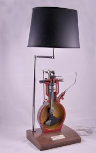 Lampada industriale vintage Drive School