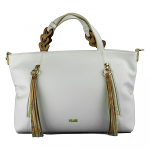 Hand and shoulder bag Alviero Martini 1A Classe BLUE BELL GI68 9471 916 BIANCO
