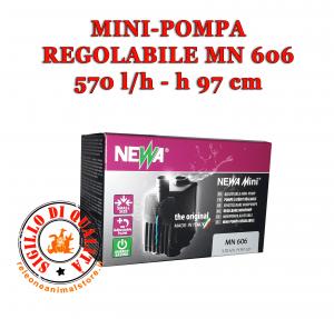 Mini Pompa regolabile per Acquario Newa Mini MN 606 economica