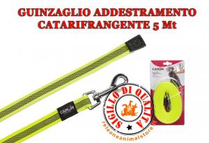 Guinzaglio Addestramento Cani Camon 5 metri Catarifrangente