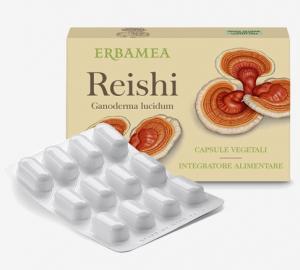 Reishi (Ganoderma lucidum) - Capsule vegetali Erbamea