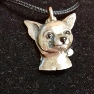 Ciondolo Cane Chihuahua in argento 925 I MUSOTTI vendita on line | BRUNI GIOIELLERIA