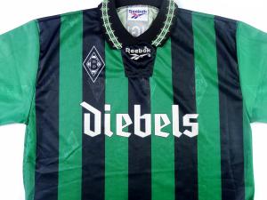 1995-96 Borussia Monchengladbach Maglia Away L (Top)