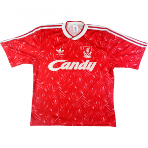 1989-91 Liverpool shirt HOME S (Top)