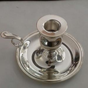 Portacandela Bugia Inglese in argento 800 in vendita on line | BRUNI GIOIELLERIA