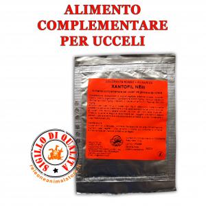 Colorante fattore rosso per Canarini Xantofil New + Silimarina 10 g.