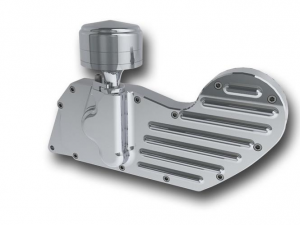 04- XL cam cover with electronic ignition, polished