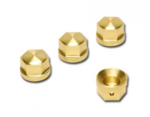 BRASS HEAD BOLT COVERS