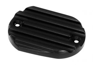 Brake Master Cylinder Cover, Aluminum, Powder Coated, Black