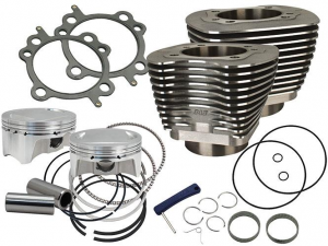 Cylinder,Kit,4 Bore,4 Stroke,100,Silver