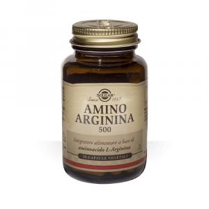 AMINO ARGININA 500 -  INTEGRATORE A BASE DI L-ARGININA IN FORMA LIBERA