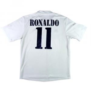2002-03 Real Madrid Maglia Centenario Home  Ronaldo #11 L