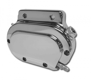6-Speed Hydraulic Clutch Actuator Cover, Chrome Smooth