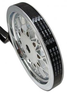 Falcon Belt,  133-Teeth 24 mm Spc= Sport Carbon Fiber