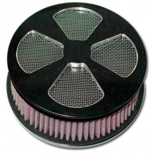 4 Splade Air Cleaner Kit, Black