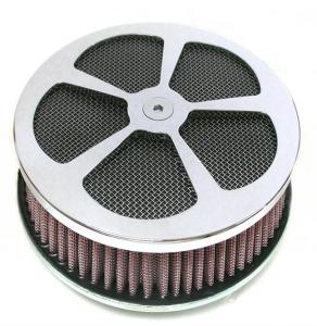 5 Splade Air Cleaner Kit, Chrome