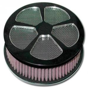 5 Spokelade Air Cleaner Kit, Black