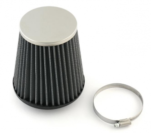 Waterproof Polyester Aircleaners Universal Conical with Chrome Cap