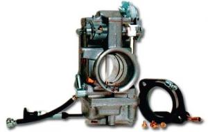 48 mm Polished Carburetor Kit
