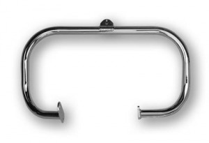 Jardine, Highwaybar Chrome Front  58-E79 FL With Swingarm Frames
