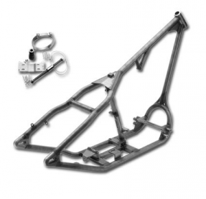 Santee Rigid Single Downtube Chopper Frame for up to 200 tyre