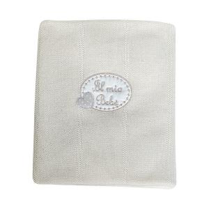 Coperta culla lana Coll. Cheesecake Picci