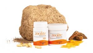 Zeolite Antiossidante + CURCUMA in capsule - Toglie Metalli Pesanti e Tossine
