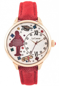 OROLOGIO CAROSE WORKERS - ROSSO
