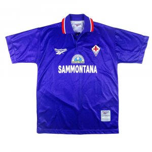 1996-97 Fiorentina Maglia Home  MATCH Issue XL ( Top)