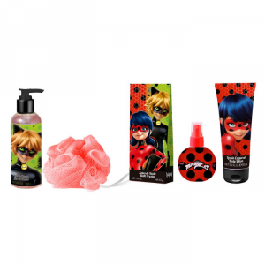 Cartoon Ladybug Eau De Toilette 90ml Set 4 Parti 2018