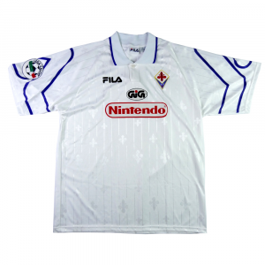 1997-98 Fiorentina Maglia Away MATCH ISSUE XL  (Top)
