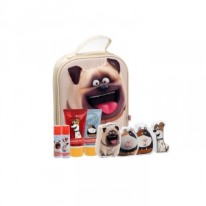 Cartoon The Secret Life Of Pets Toiletries Bag Set 4 Parti 2018