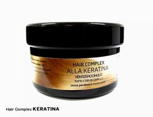 Maschera per capelli Ventizerocinque Hair complex alla Keratina
