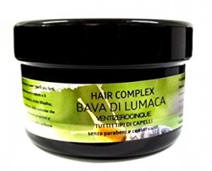 Maschera per capelli Ventizerocinque Hair complex alla bava di lumaca