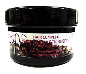 Maschera Anticrespo per capelli Hair Complex VENTIZEROCINQUE per capelli ricci mossi e crespi 400ml